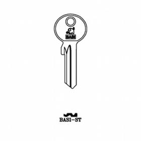 BASI ST Zylinder-Schlüsselrohling für BASI ST