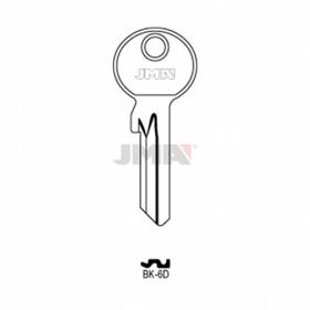 JMA BK-6D Schlüsselrohling für BKS