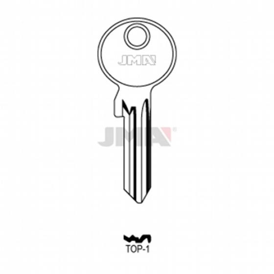 JMA TOP-1 Schlüsselrohling für TOP