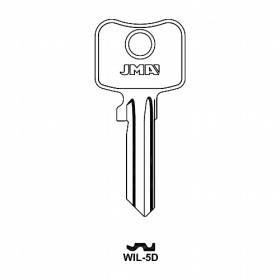 JMA WIL-5D Schlüsselrohling für WILKA