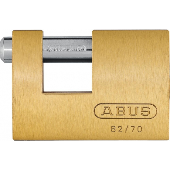 ABUS 82/70 Messing-Hangschloss