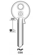 Silca CE6 Schlüsselrohling für CES