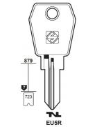 Silca EU5R Schlüsselrohling für EURO LOCKS