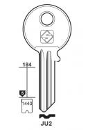 Silca JU2 Schlüsselrohling für JU