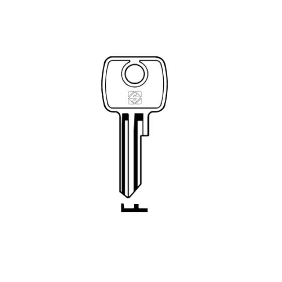 Silca LF4 Schlüsselrohling für LOWE & FLETCHER