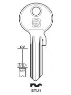 Silca STU1 Schlüsselrohling für SATURN