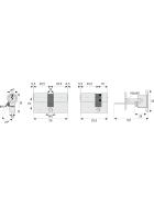 ABUS C73 Profil-Doppelzylinder