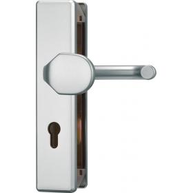 ABUS KLT512 Türschutzbeschlag ohne Zylinderschutz -...