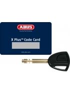 ABUS Plus / X-Plus Ersatzschlüssel, Mehrschlüssel, Nachschlüssel nach Code