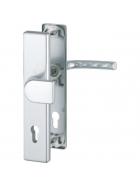 HOPPE Aluminium-Schutz-Langschild-Garnitur für Außen-/Wohnungsabschluss-Türen 1117/2221 BIRMINGHAM